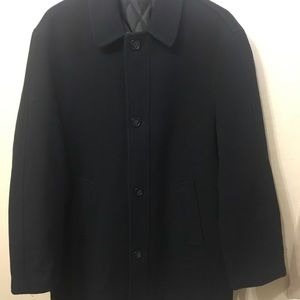 Lauren Ralph Lauren Cashmere/Wool Blend Overcoat